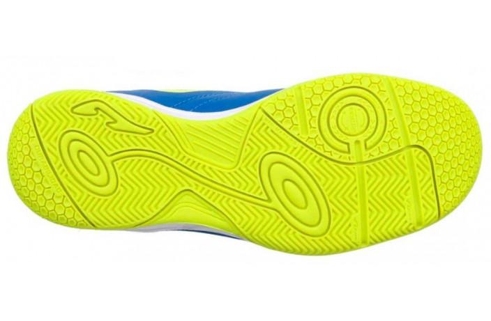 Обувь для зала детская (футзалки, бампы) синяя Joma TOLEDO