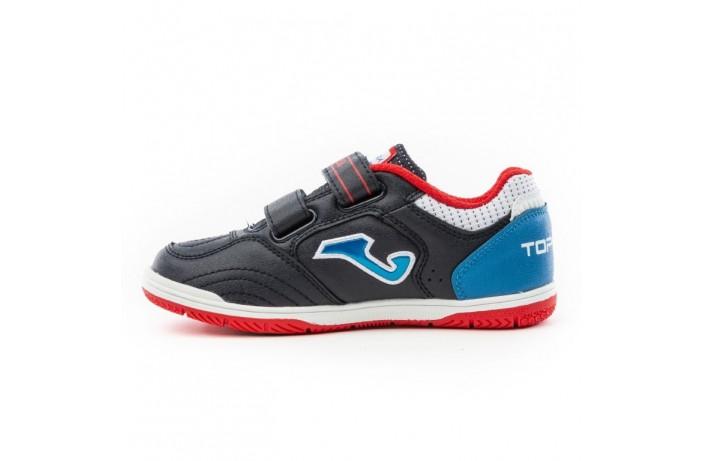 Обувь для зала детская (футзалки, бампы) т.синяя Joma TOP FLEX
