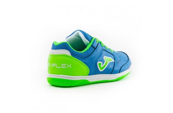 Обувь для зала детская (футзалки, бампы) синяя Joma TOP FLEX