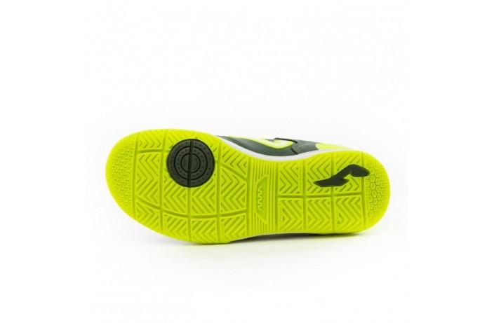 Обувь для зала детская (футзалки, бампы) т.зеленая Joma TOP FLEX