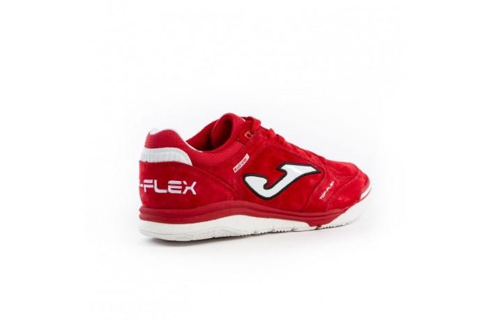 Обувь для зала (футзалки, бампы) красное Joma TOP FLEX NOBUCK