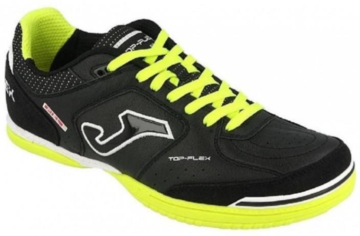 Обувь для зала (футзалки, бампы) черная Joma TOP FLEX