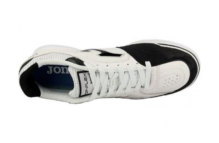 Обувь для зала (футзалки, бампы) белая Joma TOP FLEX