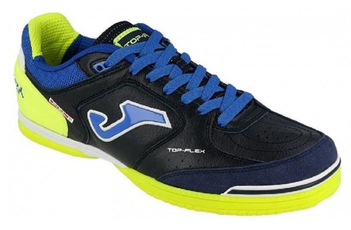 Обувь для зала (футзалки, бампы) т.синяя Joma TOP FLEX