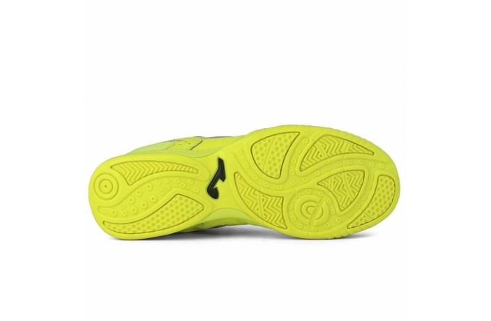 Обувь для зала (футзалки, бампы) желтая Joma TOP FLEX