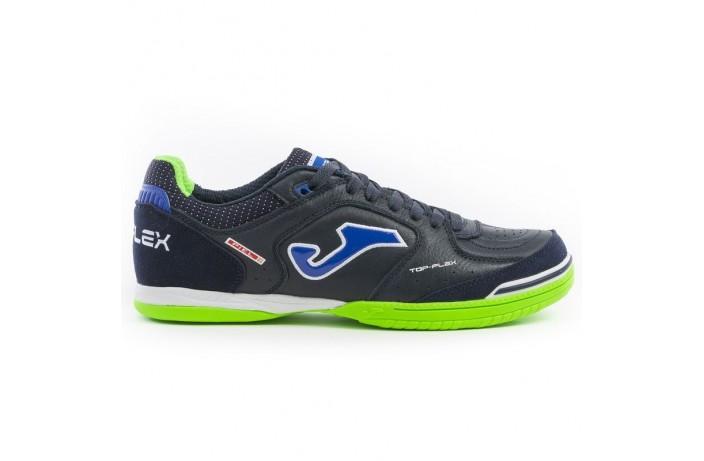 Обувь для зала (футзалки, бампы)  т.сине-зеленая Joma TOP FLEX