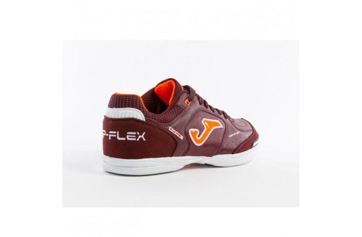 Обувь для зала (футзалки, бампы) коричневая Joma TOP FLEX