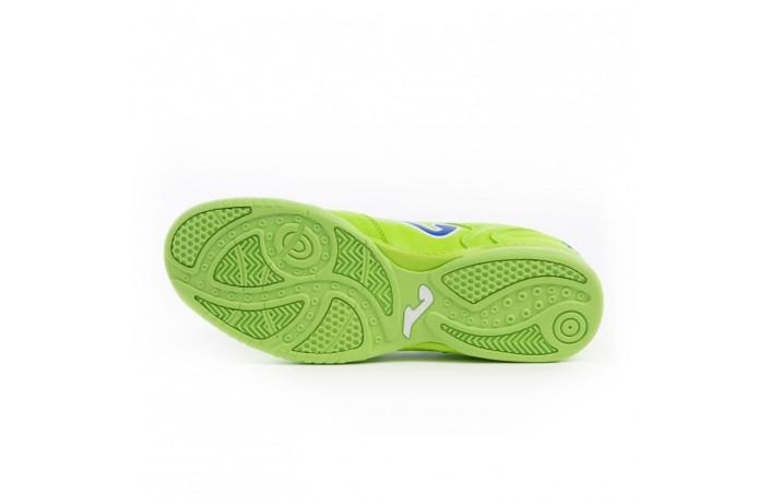 Обувь для зала (футзалки, бампы) салатовая Joma TOP FLEX