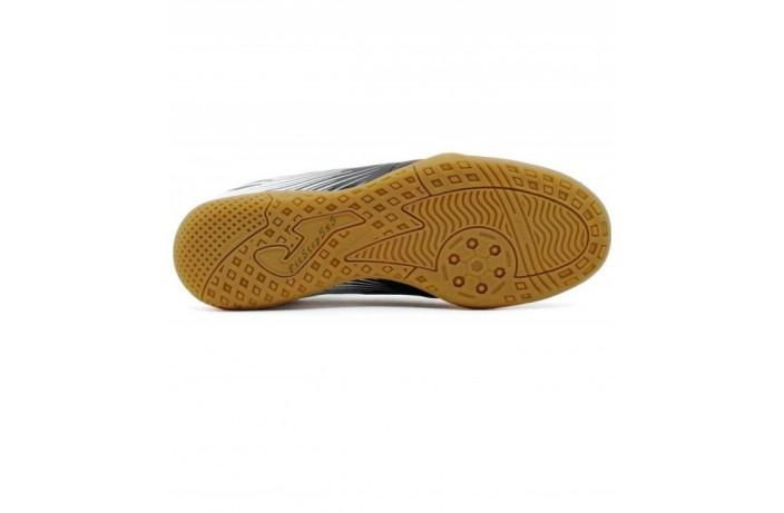 Обувь для зала (футзалки, бампы) черно-белая Joma VULCANO