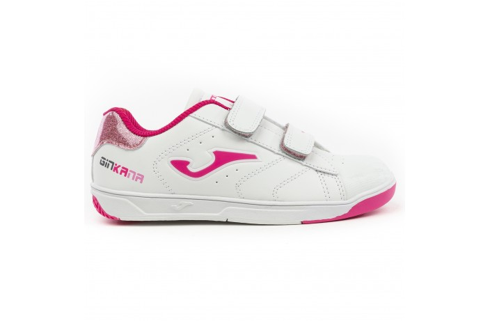 Кроссовки детские бело-розовые Joma GINKANA