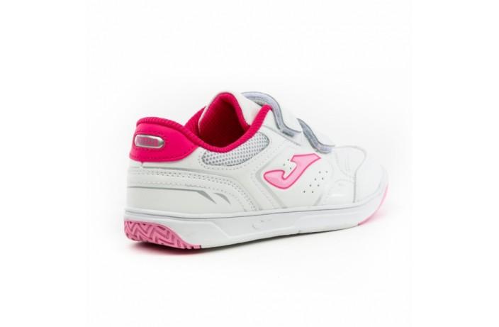 Кроссовки детские бело-розовые Joma OTTO